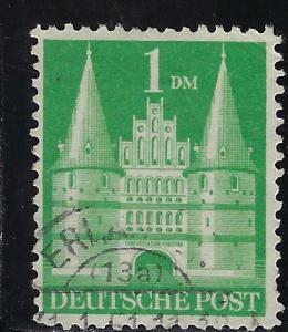 Germany AM Post Scott # 658b, used