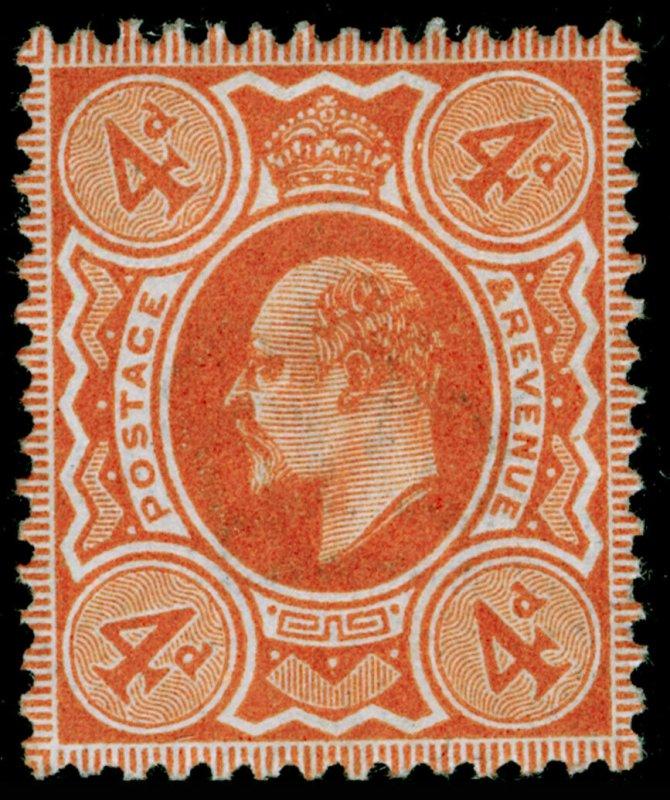 SG278 SPEC M26(1), 4d bright orange, M MINT. Cat £120.