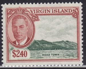 British Virgin Islands 112  Road Town 1952
