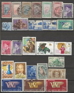 COLLECTION LOT # 5012 FRENCH COLONIES T-W 26 STAMPS 1906+ CV+$15 CLEARANCE