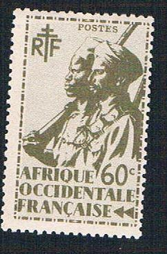 French West Africa 21 MLH Colonial Soldier (BP10124)