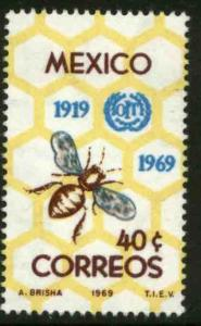 MEXICO 1006, 50th Anniv of International Labor Organization. MINT. NH. F-VF.