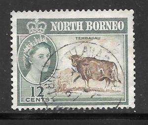 North Borneo #285 Used Single