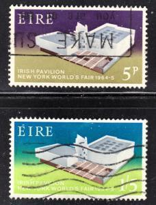 Ireland Scott 194-95 complete set F to VF used.