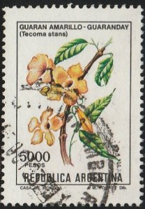 Argentina, #1352 Used  From 1982