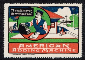 US STAMP I COULD NEVER DO WITHOUT YOU AMERICAN CAN CO. ADS POSTER STAMP #2