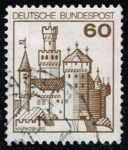 Germany #1237 Marksburg Castle; Used (0.25)