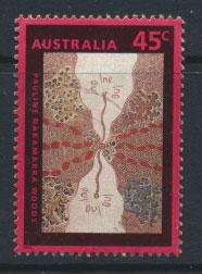 Australia SG 1388  Used  - Painting Aboriginal