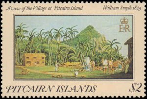 1985 Pitcairn Islands #249-252, Complete Set(4), Never Hinged