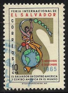 El Salvador 1965 Scott# 766 Used