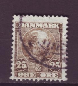 J817 jl,s stamps 1904-5 denmark scn 67 used $7.00 scv