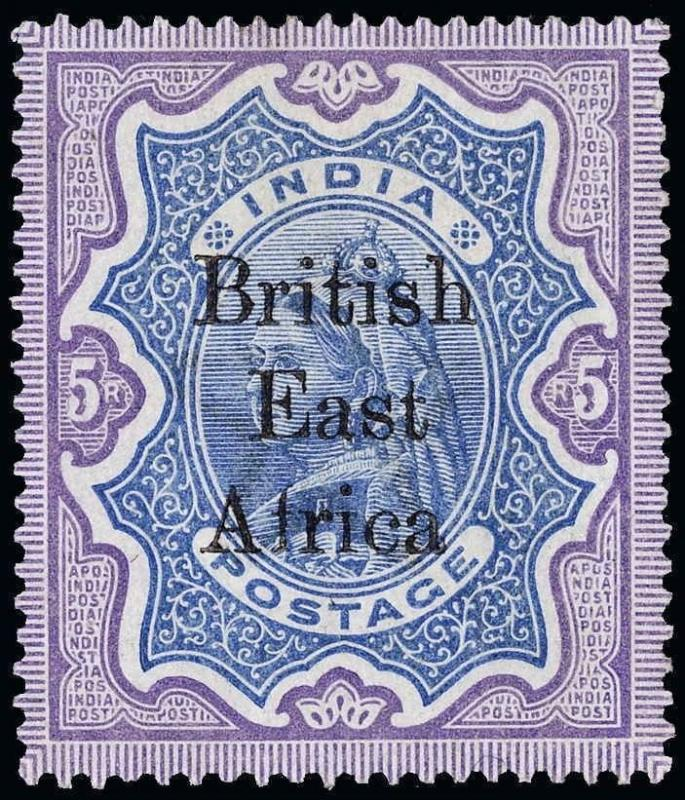 British East Africa Scott 54-71 Gibbons 49-64 Mint Set of Stamps