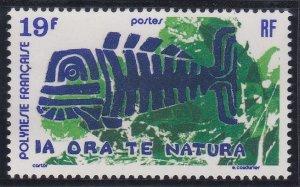 French Polynesia 286 MNH (1975)