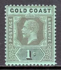 Gold Coast - Scott #75c - MH - Pencil on reverse - SCV $1.75