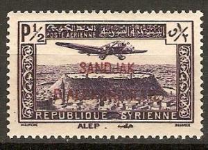 Alexandretta 1938 Scott C1 Syrian Stamp Overprinted MLH
