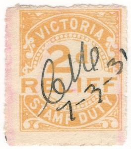(I.B) Australia - Victoria Revenue : Relief Tax 2d