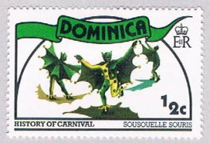 Dominica Bats half cent - pickastamp (AP103906)