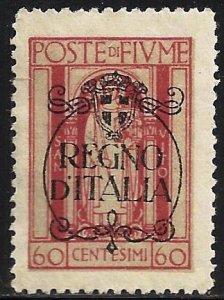 Fiume 1924 Scott# 191 MNG
