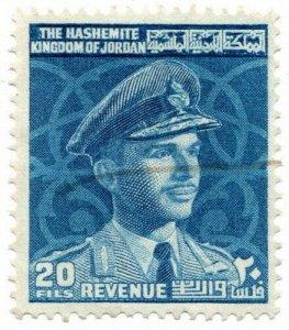 (I.B) Jordan Revenue : Duty Stamp 20f