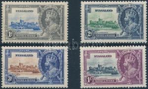 Rhodesia and Nyasaland stamp George V. set Hinged 1935 Mi 45-48 WS202970