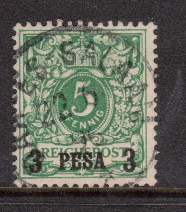 German East Africa #2 VF Used With Nice Cancel