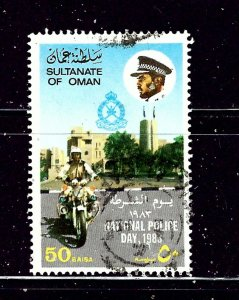 Oman 245 Used 1983 issue