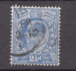 J27539 1902-11 great britain used #131 king