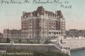 Canada Postcard - Edward VII - British Columbia