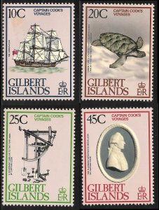 Gilbert Islands # 321 - 24 Mint Never Hinged