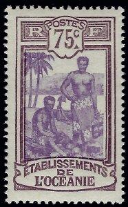 French Polynesia Sc #47 Mint VF...Polynesia is Unique!