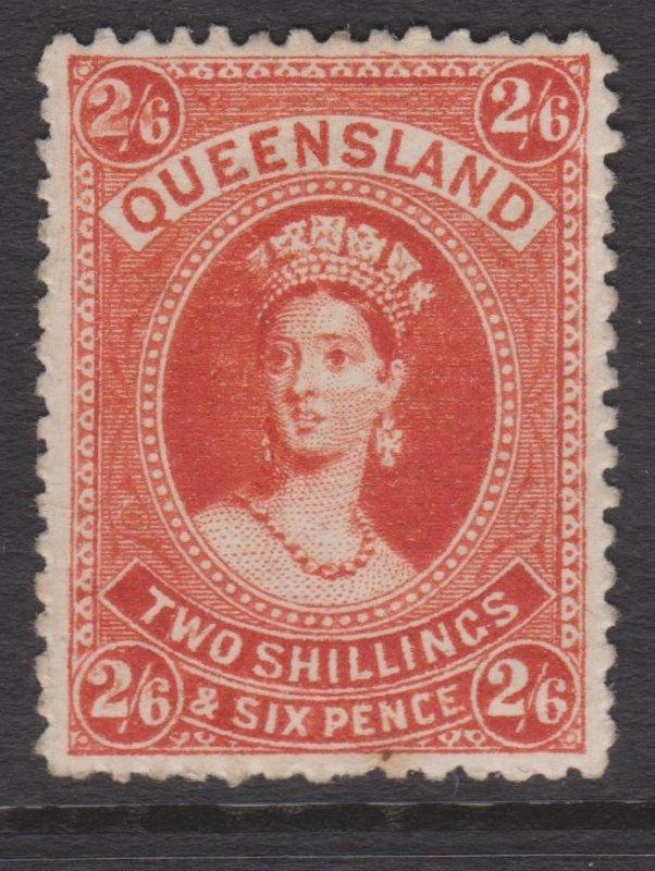 Queensland Sc#80 MH