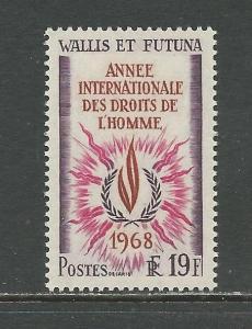 Wallis & Futuna Islands Scott catalogue # 170 Unused Hinged