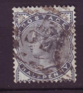 J19762 Jlstamps 1880-1 great britain used #98 queen