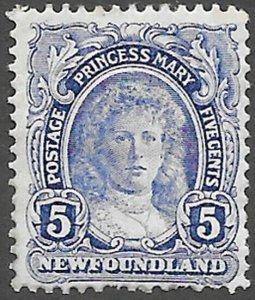Newfoundland Scott Number 108 VG HR Cat C$6