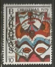 BAHAMAS 459 VFU CHRISTMAS Y182-6