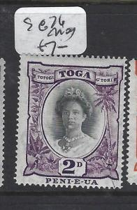 TONGA (P0605B)  2D  SG 76    MOG