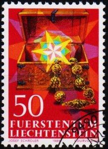 Liechtenstein. 1985 50r S.G.881 Fine Used