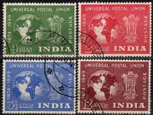 India #223-6   F-VF Used CV $10.50 (X1226)