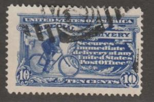 U.S. Scott #E8 Special Delivery Stamp - Used Single - JUMBO Stamp