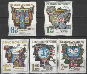 Czechslovakia  1931-5  MNH  UNESCO Hydro Survey