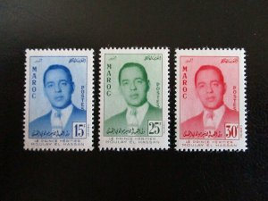Morocco #16-18 Mint Hinged (L7H4) WDWPhilatelic