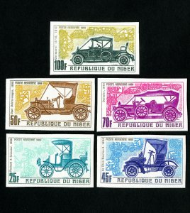 Niger Stamps # C106-10 Imperf NH