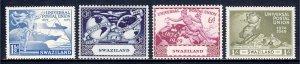 Swaziland - Scott #50-53 - MNH - Minor gum glazing - SCV $3.00