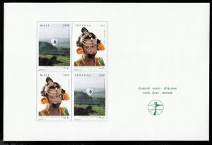 Mali 812 - 813 / Senegal 1258 - 1259 West Africa Ecopole MNH