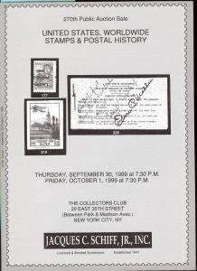 United States, Worldwide Stamps & Postal History, Schiff