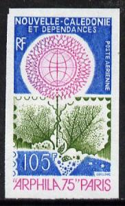 New Caledonia 1975 'Arphila '75' Stamp Exhibition imperf ...