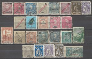 COLLECTION LOT # 3822 PORTUGESE COLONIES 25 STAMPS 1885+ CV+$19