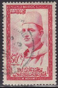 Morocco 6 Sultan Mohammed 1957