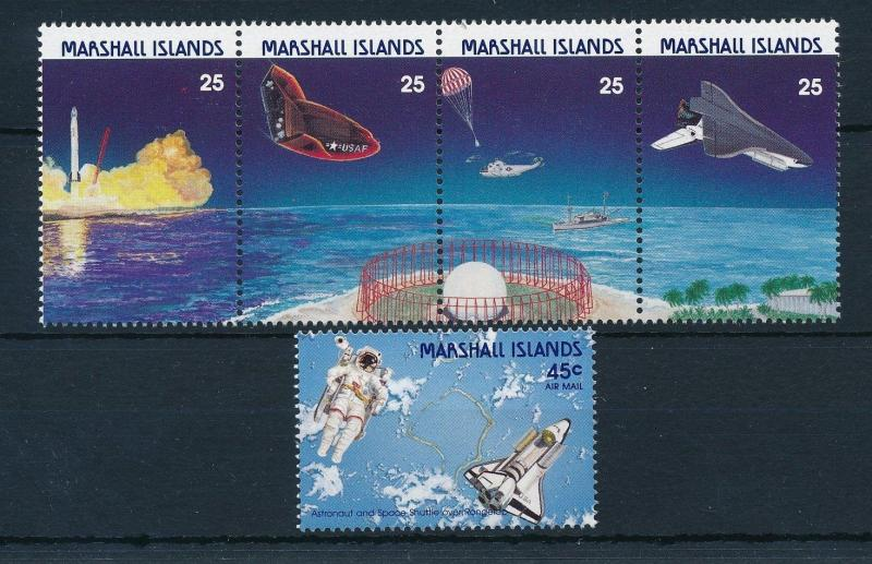 [24406] Marshall Islands 1988 Space Travel Weltraum MNH