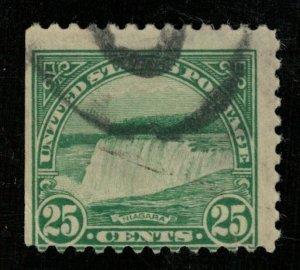 Stamp USA 1922 Niagara Falls 25c (ТS-351)